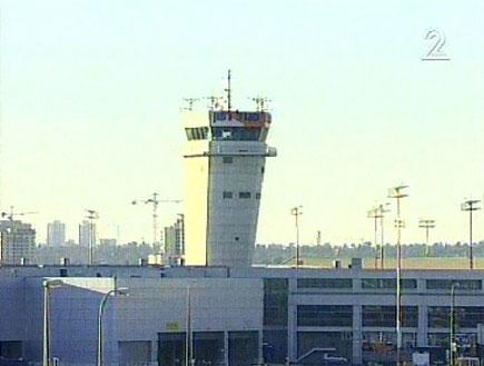 מגדל פיקוח (תמונת AVI: חדשות1 ערוץ 2)