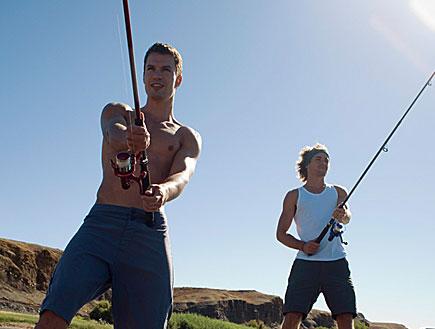 2 דייגים (צילום: jupiter images)