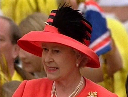 המלכה אליזבת השנייה (תמונת AVI: חדשות1 ערוץ 2)