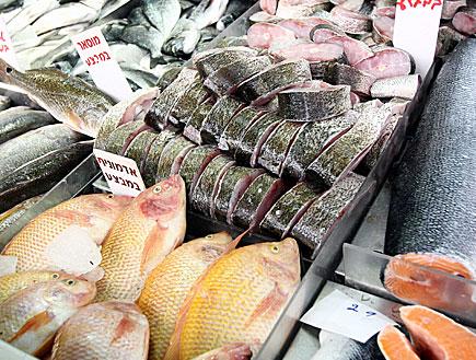 דוכן דגים (צילום: עודד קרני)