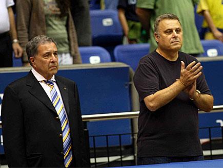 דיוויד פדרמן ושמעון מזרחי (צילום: עודד קרני)