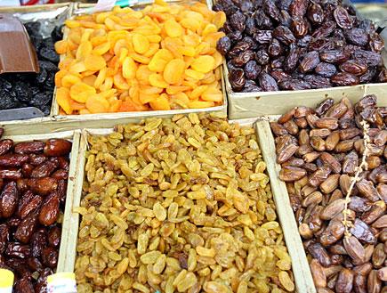 פירות יבשים 2 (צילום: עודד קרני)