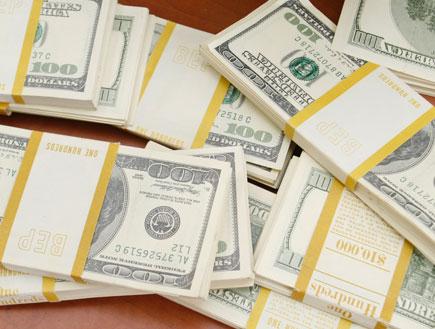 דולרים מזויפים (צילום: עודד קרני)
