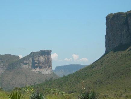 צוקים בשאפאדה דיאמנטינה בברזיל (צילום: SXC)