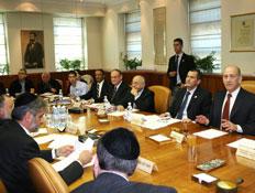 דיון של הממשלה בנושא דת (צילום: יצחק אלהרר)