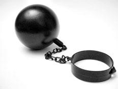 שרשרת לרגלו של אסיר