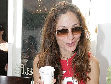 אורנה פיטוסי במפגש כוכבי אולי הפעם בקפה קפה (צילום: שוקה1, 2 mako)