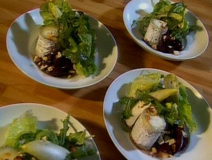 סלט סלק צלוי עם גבינת צאן22176 (תמונת AVI: אהרוני מבשל לחברים1)