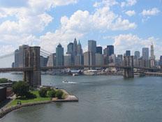 גשר ברוקלין בניו יורק