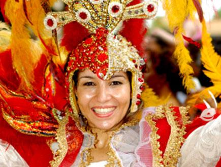 רקדנית קרנבל ברזילאית (צילום: iStock)