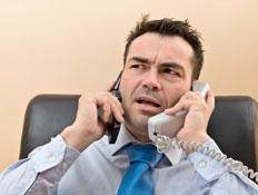 איש עסוק (צילום: Pinopic, Istock)