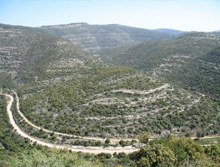 טיולים בארץ: שביל בין רכסי הרי ירושלים