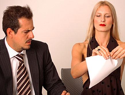 גבר ואישה במשרד (צילום: istockphoto)