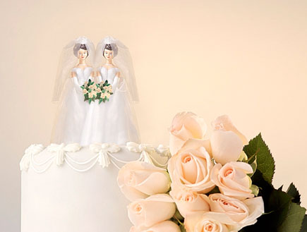 חתונה לסבית (צילום: jupiter images)