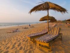 חוף הים בגואה (צילום: holgs, Istock)