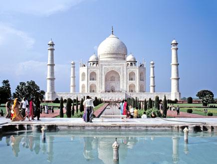 הטאג' מאהל בהודו (צילום: SXC)