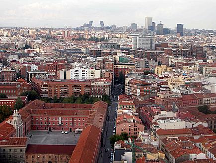מבט מלמעלה על העיר מדריד (צילום: עדי רם, iStock)