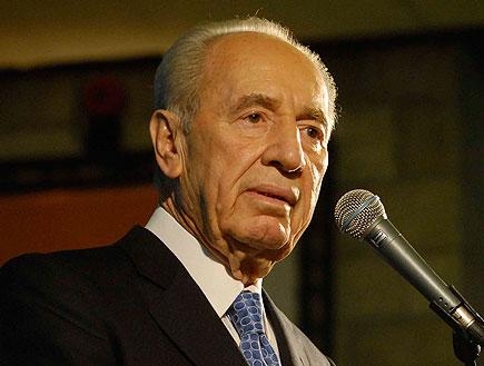 שמעון פרס (תמונת AVI: לואיז גרין, חדשות)