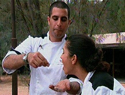 הרמוניה ובלבול במלכות המטבח (תמונת AVI: עדי רם,  תחרות מתכוני השוקולד של עלית)