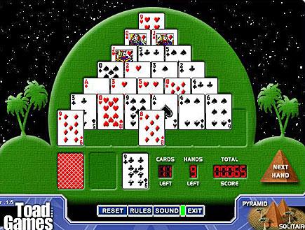 pyramid solitaire,סוליטייר פירמידה (וידאו WMV: אור גץ)