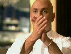 שף קדם מוחא כפיים (תמונת AVI: עדי רם,  תחרות מתכוני השוקולד של עלית)
