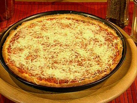 הפיצה של אלון וורד מזרחי27908 (תמונת AVI: מצעד האוכל הישראלי)
