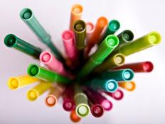 טושים צבעוניים (צילום: Bart Coenders, Istock)