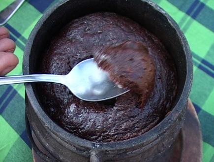 אוכל: פוייקה פונדו שוקולד1 (וידאו WMV: עדי רם)