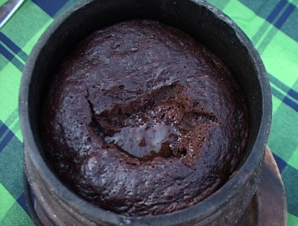 אוכל: פוייקה פונדו שוקולד2 (וידאו WMV: עדי רם)