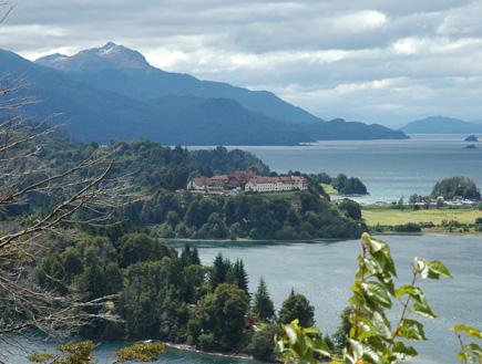 אזור האגמים בצ'ילה (צילום: יוסי מלמד)