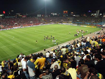 אצטדיון רמת גן בגמר גביע המדינה (צילום: עודד קרני)