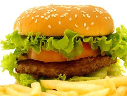 המבורגר, צ'יפס (וידאו WMV: FOTOLIA, חדשות)
