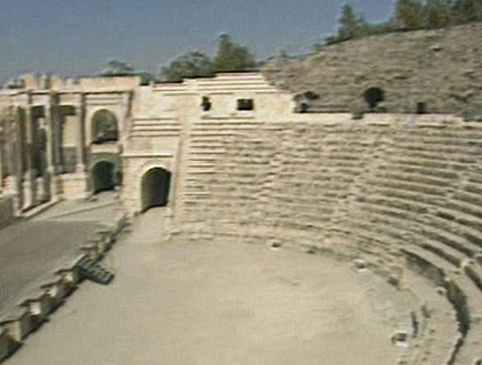 טיולים בצפון: בית שאן - הקולוסיאום (וידאו WMV: עדי רם, חדשות)