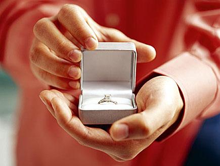 הצעת נישואים (צילום: jupiter images)