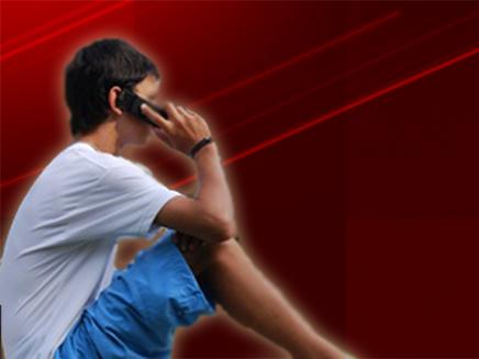 ילד, מדבר, סלולרי , אילוסטרציה (וידאו WMV: פוטוליה)