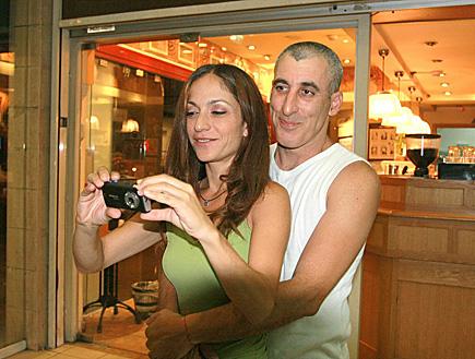 אורנה פיטוסי ובעלה (צילום: שוקה)