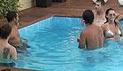 איתי, קרן, שי, ערן ובוריס בבריכה 3 4.9 (וידאו WMV: עדי רם, האח הגדול)