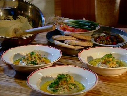 חומוס גלילי משובח (תמונת AVI: אהרוני מבשל לחברים)