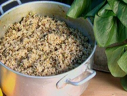 אורז קארדי של צוקית (תמונת AVI: גיל חובב מגיש:המנה של המדינה)