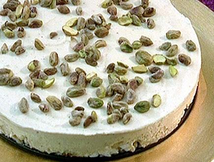 עוגת גבינה וחמאת בוטנים (תמונת AVI: גיל חובב מגיש:המנה של המדינה)