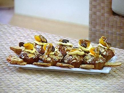 עוגת פירות יבשים (תמונת AVI: זמן איכות עם הילה אלפרט)
