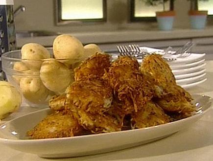 לביבות תפוחי אדמה (תמונת AVI: שיעור פרטי עם אהרוני)