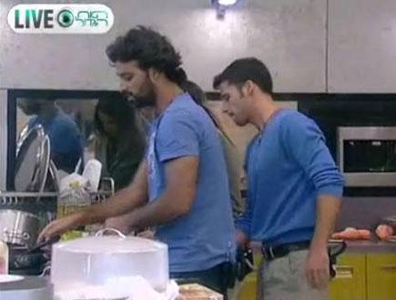 שי וצבר במטבח 24.9 (וידאו WMV: האח הגדול)