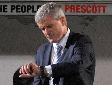 מארק יוז, מאמן מנצ'סטר סיטי (צילום: רויטרס)