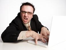 מחשב גרוע (צילום: jupiter images)