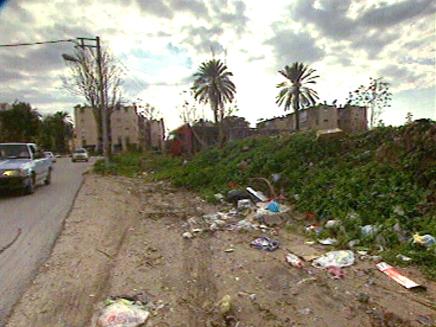 רחובות העיר לוד (צילום: חדשות)