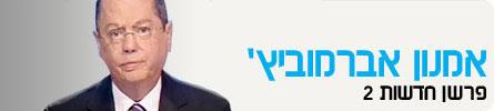 אמנון אברמוביץ', פרשן חדשות 2 (תמונת AVI: חדשות)