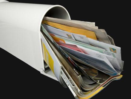 תיבת דואר עמוסה (צילום: OnePopPhoto, Istock)