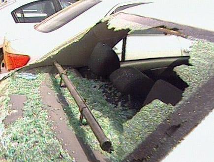 מכוניתו של עבאס סואן