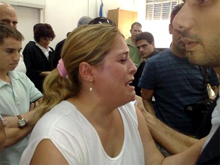 נפגעי חפציבה בבית המשפט (צילום: חדשות)